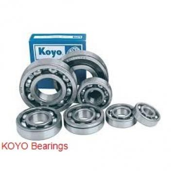 70 mm x 125 mm x 24 mm  KOYO 6214 deep groove ball bearings