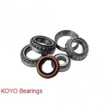 140 mm x 360 mm x 82 mm  KOYO NF428 cylindrical roller bearings