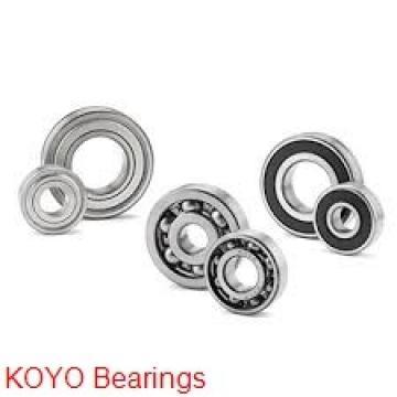 4 mm x 13 mm x 5 mm  KOYO F624ZZ deep groove ball bearings