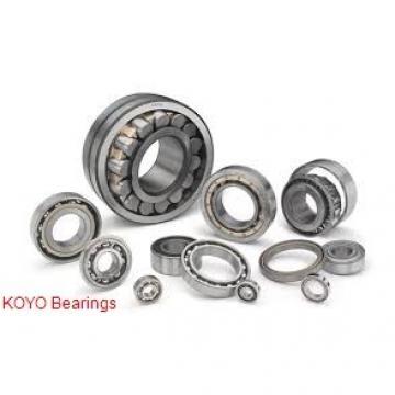 12 mm x 21 mm x 5 mm  KOYO 6801 deep groove ball bearings