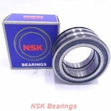 60 mm x 130 mm x 31 mm  NSK QJ312 angular contact ball bearings