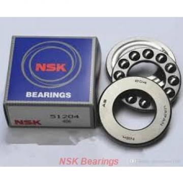 200 mm x 360 mm x 58 mm  NSK 7240 A angular contact ball bearings