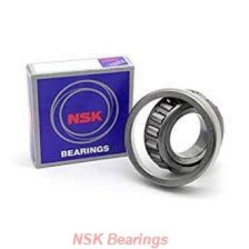 160 mm x 240 mm x 38 mm  NSK NF1032 cylindrical roller bearings