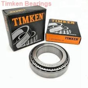 90 mm x 190 mm x 43 mm  Timken 7318WN angular contact ball bearings