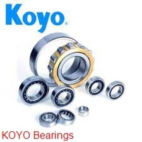 400 mm x 600 mm x 200 mm  KOYO 24080RHA spherical roller bearings #1 image
