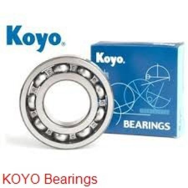 6 mm x 19 mm x 6 mm  KOYO F626 deep groove ball bearings #1 image