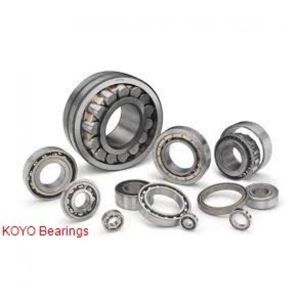 55 mm x 100 mm x 33.3 mm  KOYO 5211 angular contact ball bearings #1 image